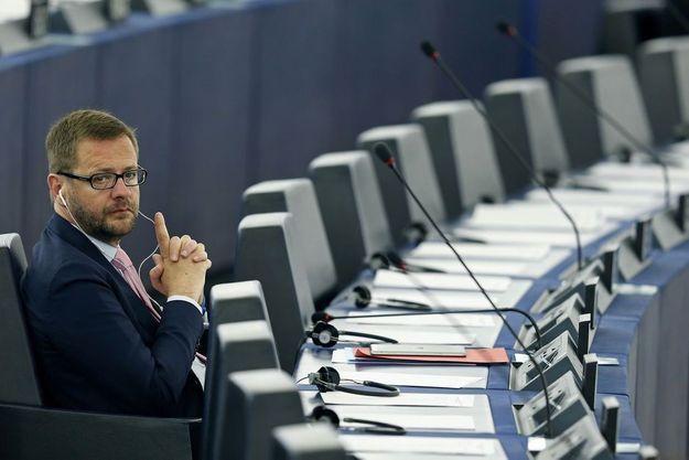 Jérôme Lavrilleux au Parlement européen (photo d'illustration)