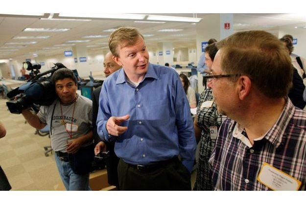 Jim Messina à Chicago le 12 mai 2012.