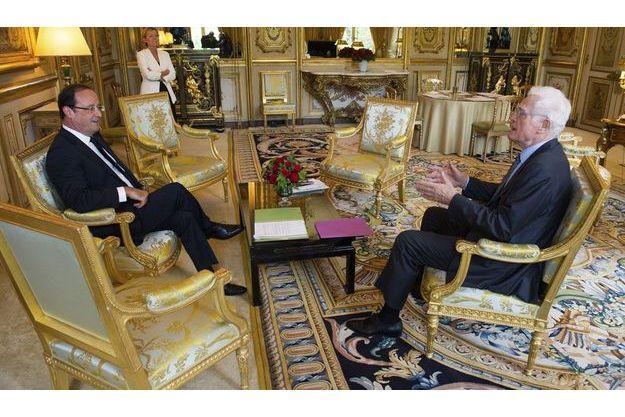 Le 16 juillet, François Hollande recevait son ancien mentor à l'Elysée.