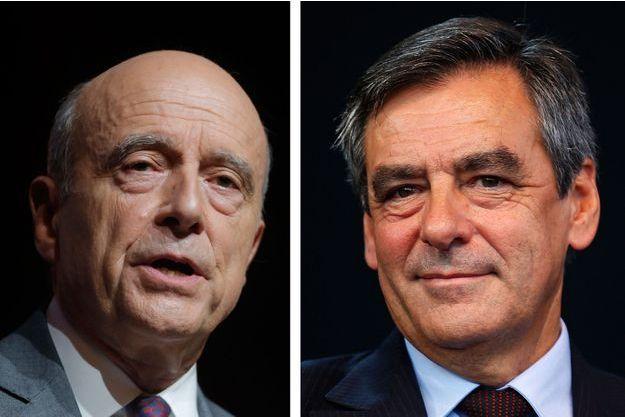 L'affontement a commencé entre Alain Juppé et François Fillon