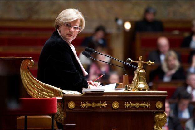 Catherine Vautrin à l'Assemblée nationale en 2009.