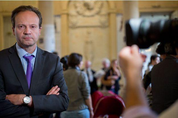 Jean-Marc Germain, l'un des meneurs des frondeurs.
