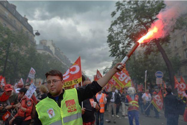 Selon les syndicats, un million de personnes sont descendus dans la rue jeudi dernier pour protester contre la loi travail