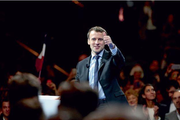 Emmanuel Macron à Lille le 14 janvier.