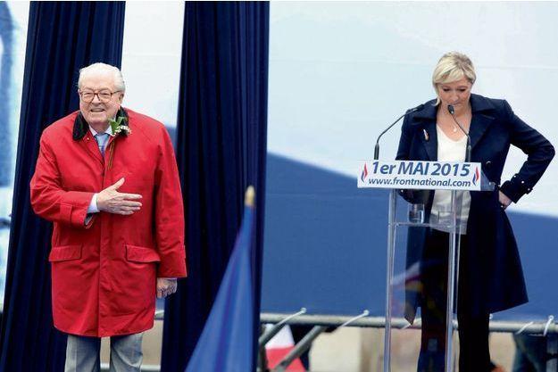 La guerre est déclarée entre Marine Le Pen et son père.