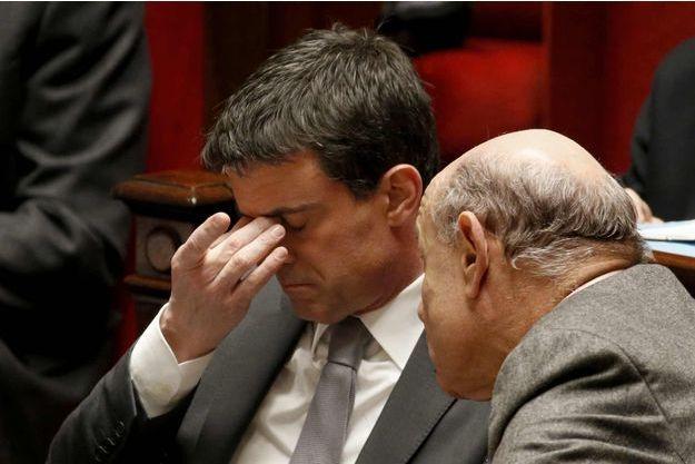 Manuel Valls et Jean-Marie Le Guen.