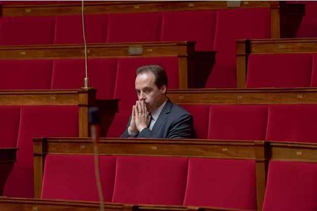 Jean-Christophe Lagarde à l'Assemblée nationale.