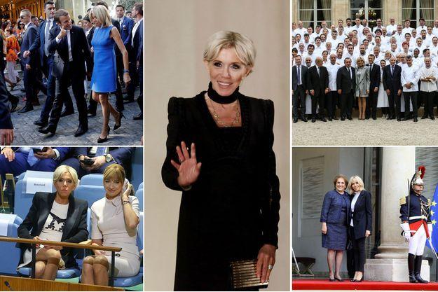 L'Elysée a publié lundi l'agenda de Brigitte Macron pour le mois de septembre.
