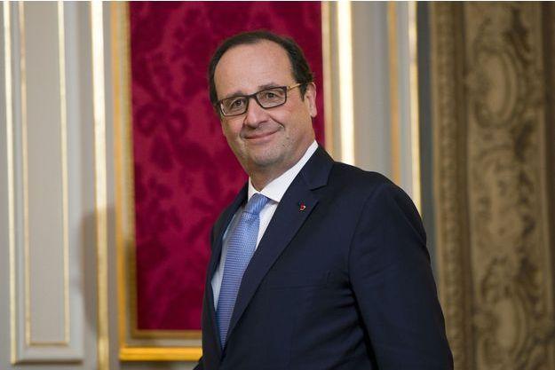 François Hollande à l'Elysée le 1er décembre.