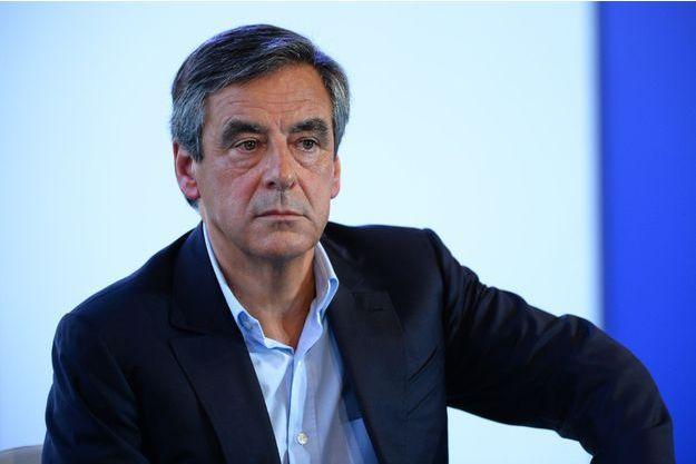 François Fillon à l'université d'été du Medef à Jouy-en-Josas, le 30 août.