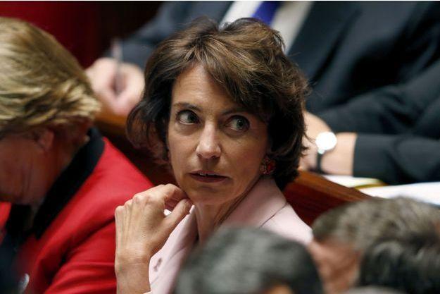 La ministre de la Santé, Marisol Touraine, à l'Assemblée nationale le 8 octobre.