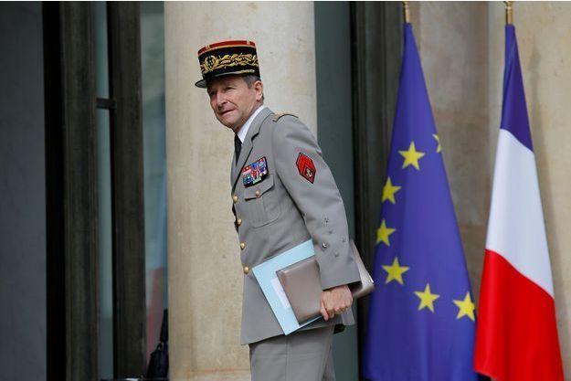 Pierre de Villiers, le 13 juillet 2017.