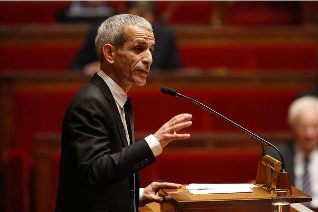 Malek Boutih à l'Assemblée nationale le 19 novembre dernier.