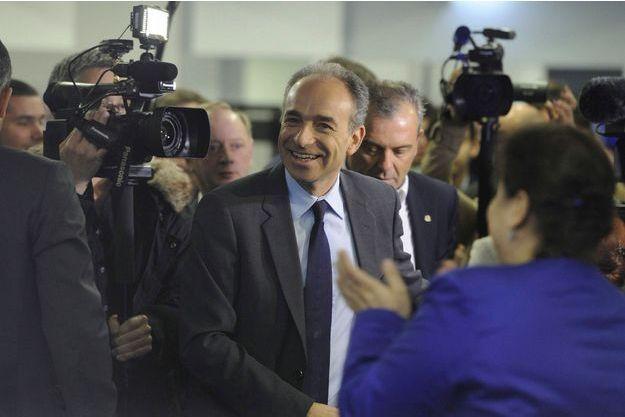 Jean-François Copé le 30 mars au siège de l'UMP.