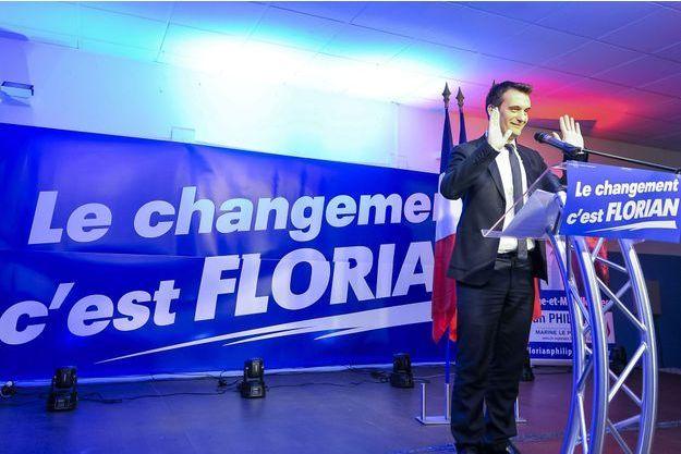 Florian Philippot au soir du second tour des élections régionales.