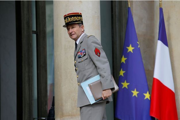 Le général Pierre de Villiers à l'Elysée, le 13 juillet dernier.