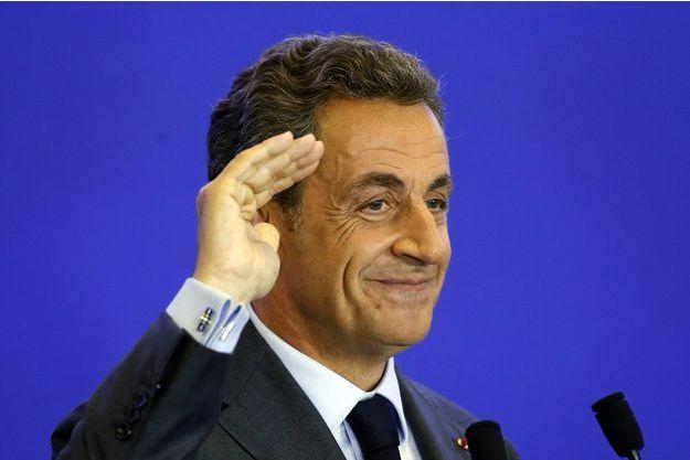 Nicolas Sarkozy le 16 septembre à Paris.