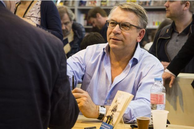 Philippe Torreton, au salon du livre en mars dernier.