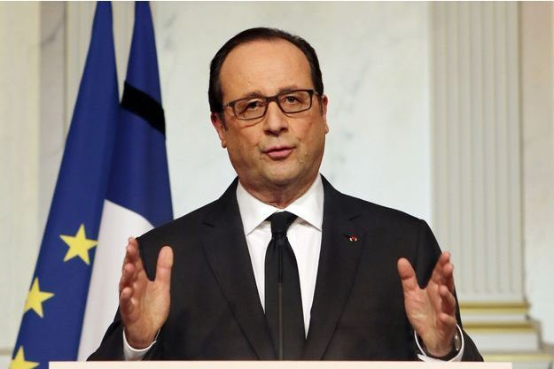 Le president de la République Francois Hollande