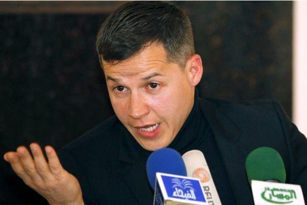 Boris Boillon à Bagdad, en janvier 2011.