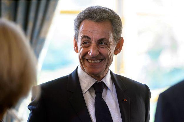 """Nicolas Sarkozy était l'invité exceptionnel de """"L'Equipe du Soir""""."""