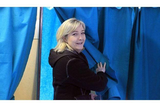 Marine Le Pen a voté à Hénin-Beaumont au second tour.