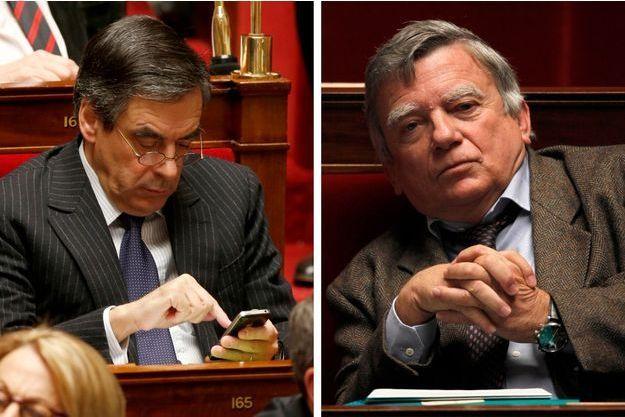 Deux députés « hommes d'affaires » : François Fillon (UMP), Jean-François Copé (UMP) et Jean Glavany (PS).