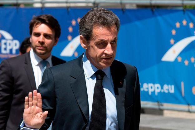 Nicolas Sarkozy, le 25 juin 2015.