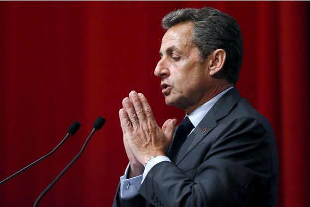 Nicolas Sarkozy le 6 janvier dernier à Anvers.