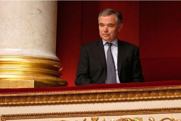 Le secrétaire général du parti Les Républicains, Bernard Accoyer.