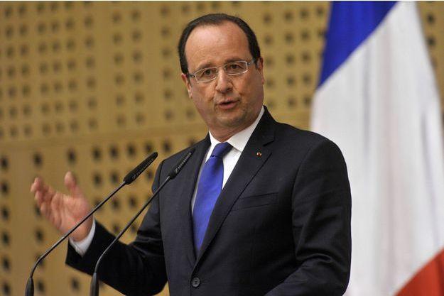 François Hollande en juillet 2013 en Slovénie. C'est là qu'il a inventé la Macédonie en voulant parler de la Macédoine.
