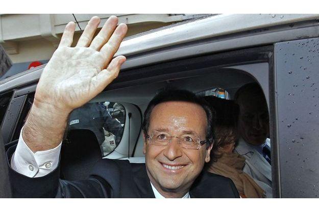 François Hollande à Tulle, dimanche.