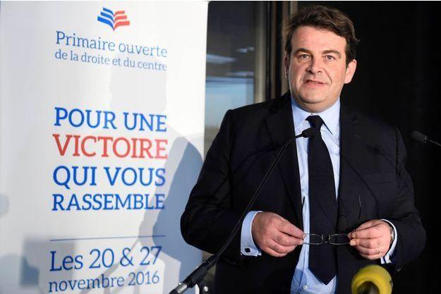 Thierry Solère était le président de la commission d'organisation de la primaire de la droite et du centre.
