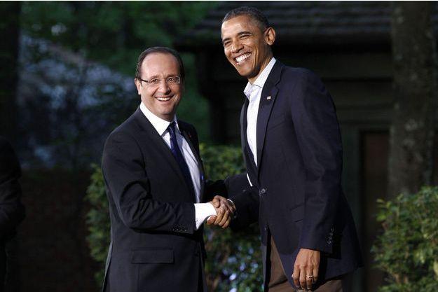 François Hollande et Barack Obama en mai 2012. Les deux hommes se retrouveront en Californie au mois de février.