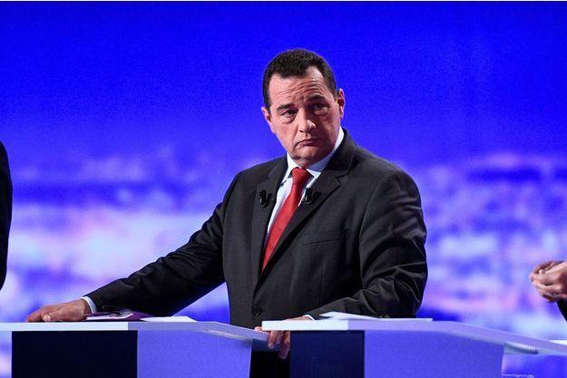 Jean-Frederic Poisson, lors du premier débat de la primaire.