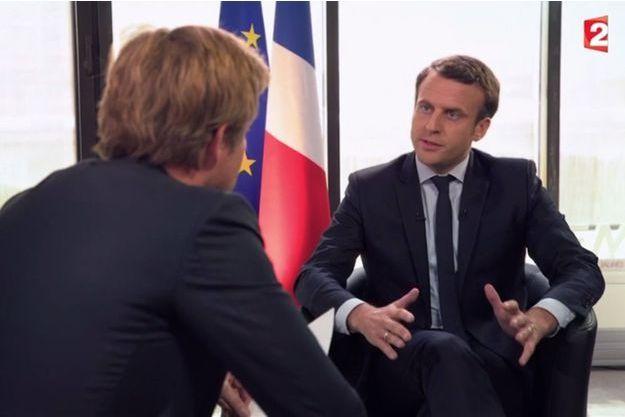 Emmanuel Macron interviewé dimanche par Laurent Delahousse