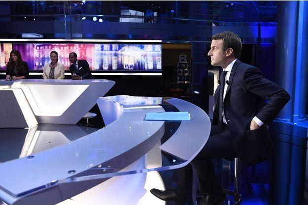 Emmanuel Macron sur TF1, le 27 avril dernier.