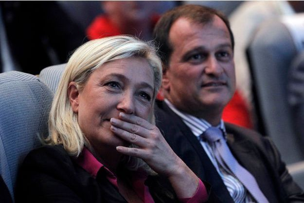 Marine Le Pen et Louis Aliot en septembre 2012.