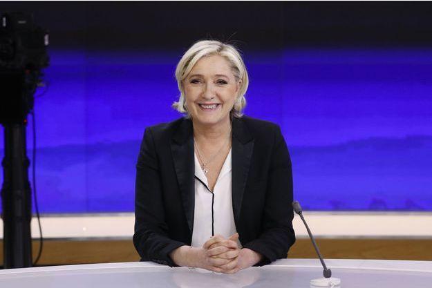 Marine Le Pen sur France 2 lundi soir.