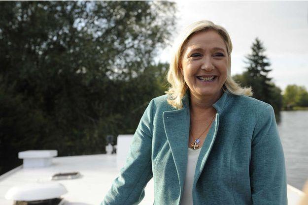 Marine Le Pen le 20 septembre.