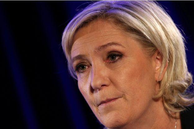Marine Le Pen à Paris, le 26 janvier 2017.
