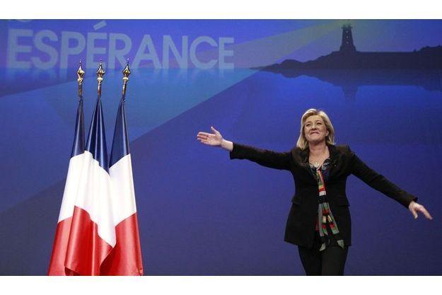 Marine Le Pen à Lille le 19 février dernier.
