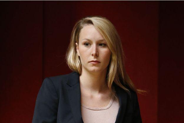 Marion Maréchal-Le Pen en avril 2015.