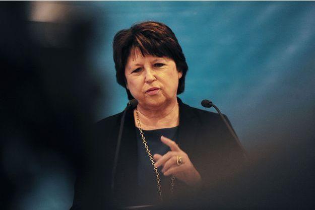 La maire de Lille, Martine Aubry, le 14 janvier dernier.