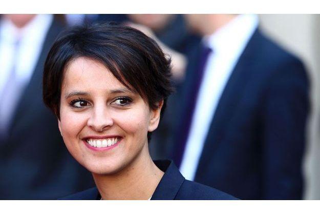 Najat Vallaud-Belkacem a été nommée mercredi ministre du Droit des femmes et porte-parole du gouvernement de François Hollande.