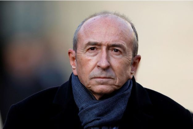 Gérard Collomb début janvier.
