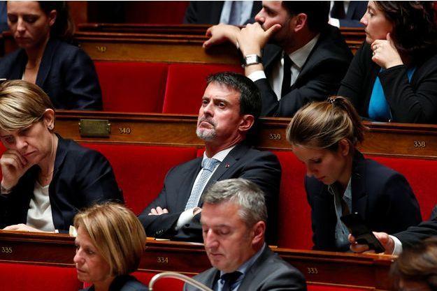 Manuel Valls à l'Assemblée nationale en octobre dernier.