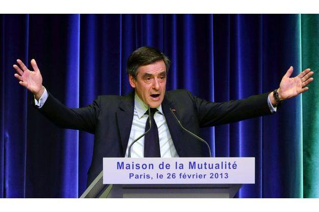 François Fillon à la Mutualité, mardi.