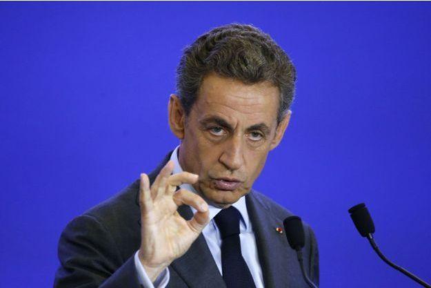 Nicolas Sarkozy en septembre dernier.