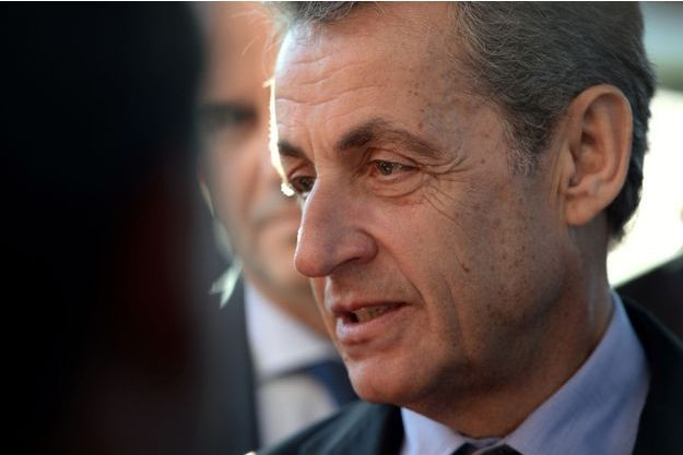 Nicolas Sarkozy ici lors d'un déplacement au zoo de Beauval en novembre dernier.
